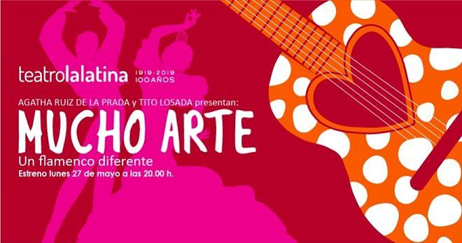 Ágatha Ruiz de la Prada Mucho arte teatro la latina