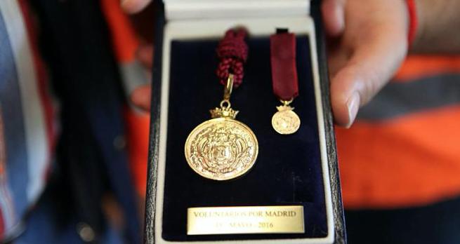 medalla de oro madrid