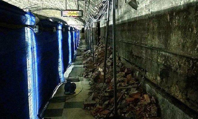 Metro Arturo soria obras