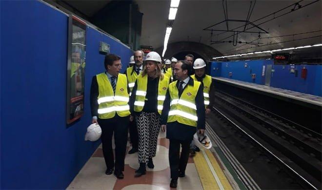 Metro Madrid obras arturo soria
