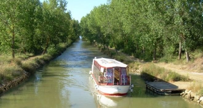 Tren canal de castilla barco