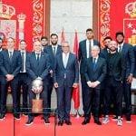 Homenaje al Real Madrid de baloncesto por su 35 título de Liga
