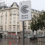 Suspensión temporal de las multas en Madrid Central