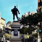 El 'rastro' histórico de la plaza de Cascorro