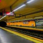 Cierra el acceso a la línea 4 de la estación de Metro Bilbao