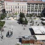 La reforma de la plaza Pedro Zerolo, en 'stand-by'