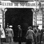 El histórico incendio del Teatro Novedades, la gran tragedia de La Latina