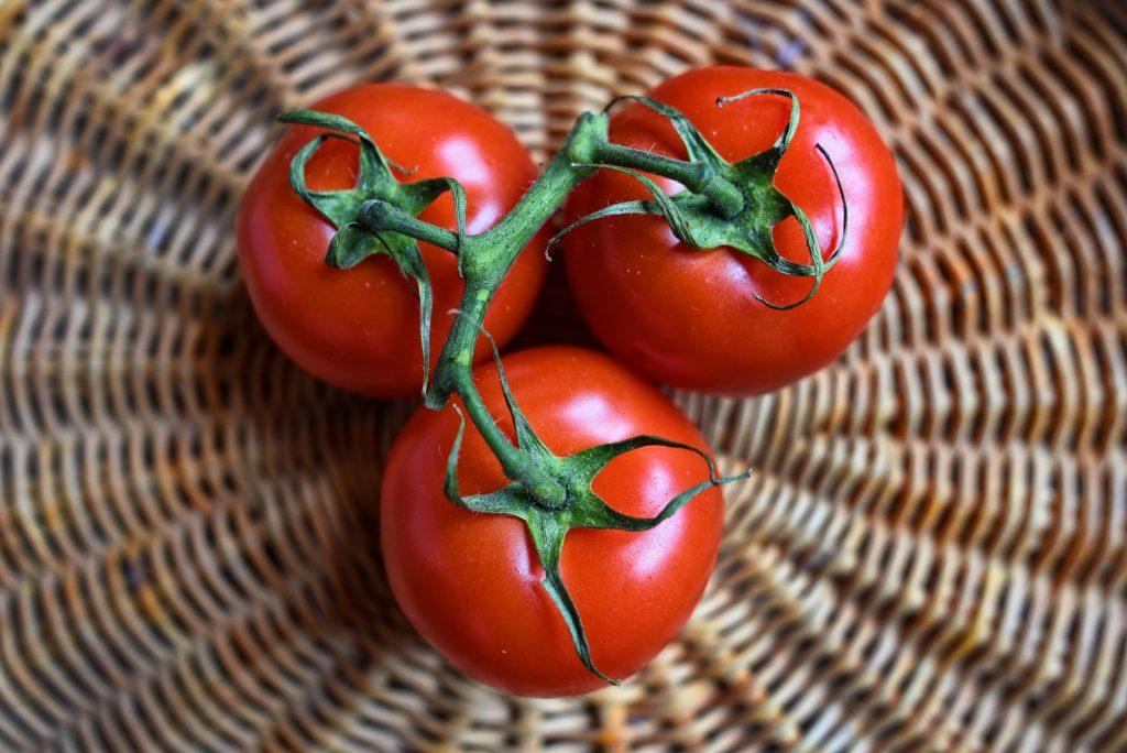 tipo de piel alimentos tomate