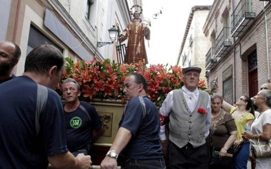 Procesión en las Fiestas de San Lorenzo