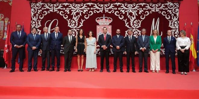 Nuevo Gobierno de la Comunidad de Madrid