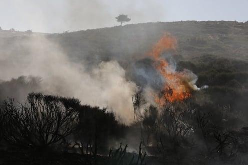 Desarrollo del incendio de Guadarrama