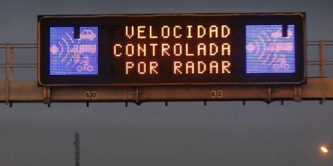 Radar Multicarril M30 avenida ilustración