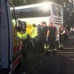 Muere una motorista en Cibeles y, en Moratalaz, un vehículo atropella a tres personas