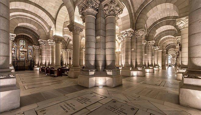 cripta La Almudena