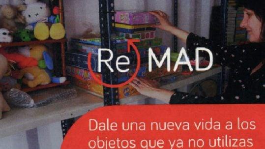 ReMAD, plataforma de intercambio de objetos