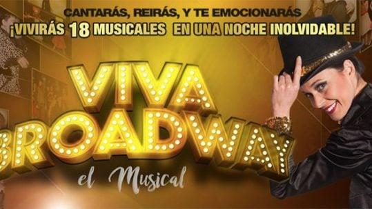 cartel viva broadway el musical