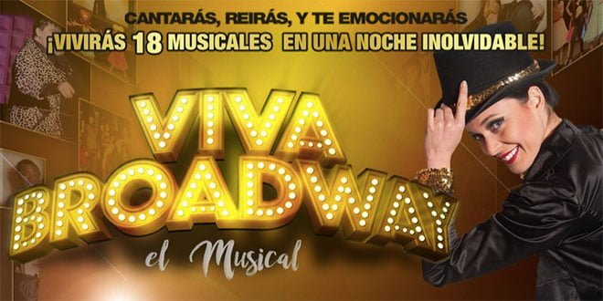 cartel viva broadway el musical