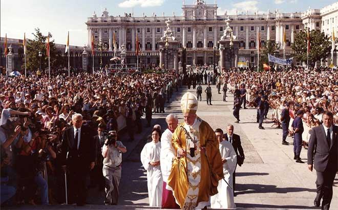 visita del Papa en 1993