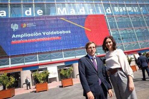 Almeida y Ayuso en IFEMA