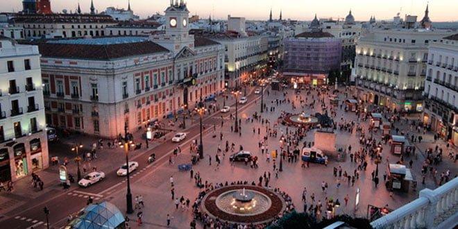 Distritos de Madrid. Puerta del Sol