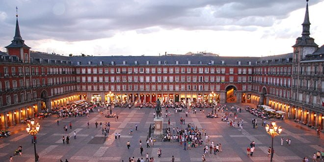 Distritos de Madrid.Plaza Mayor