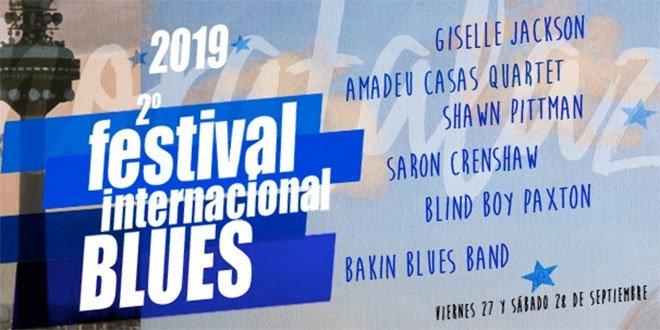 II Festival Internacional de Blues de Moratalaz. Cartel
