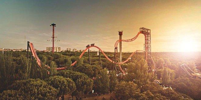 Parque de Atracciones de Madrid. Atracciones