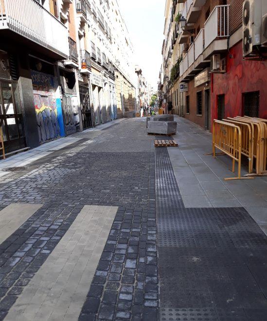 asfaltado calles madrid 2019 agosto
