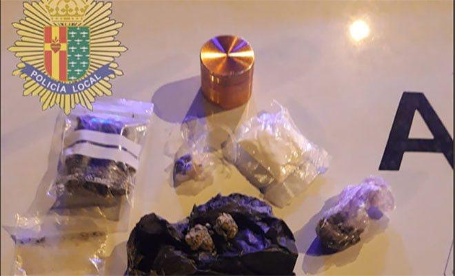 drogas en parques y zonas infantiles de Getafe. Alijo