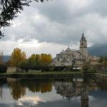 Real Monasterio de Santa María de El Paular, en la Sierra de Guadarrama