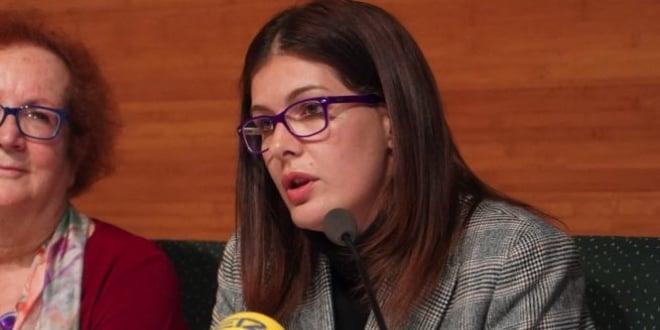 Alcaldesa de Móstoles Noelia Posse