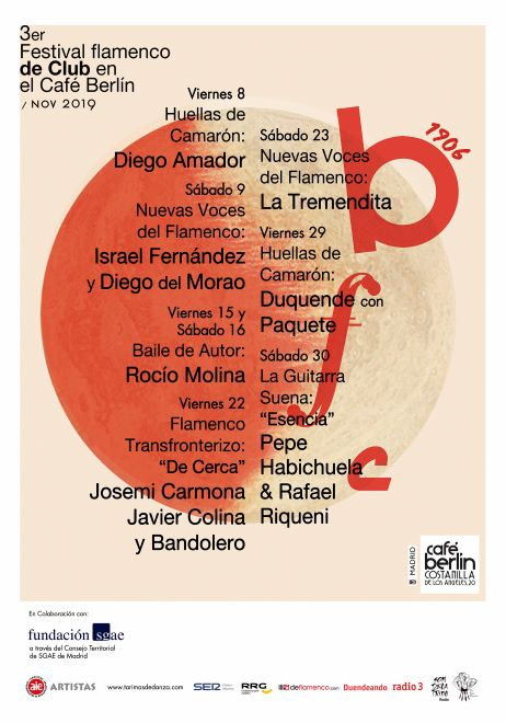 cartel festival flamenco cafe berlin
