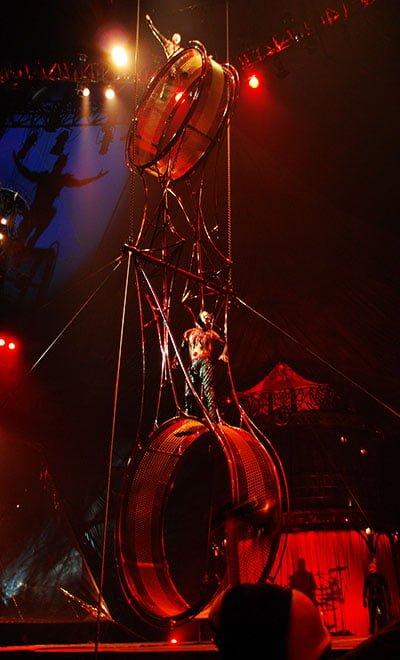 cirque du soleil rueda de la muerte