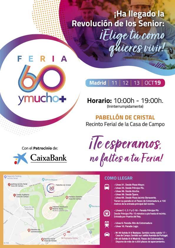 feria 60ymucho+ cartel