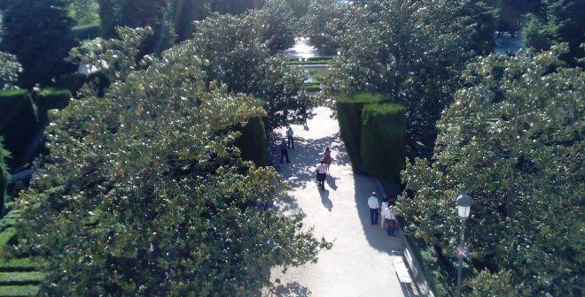 jardines sabatini cierran