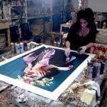 La feria de arte contemporáneo Estampa presenta el último trabajo de Lita Cabellut