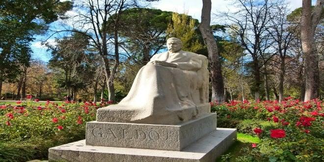Galdós monumento El Retiro