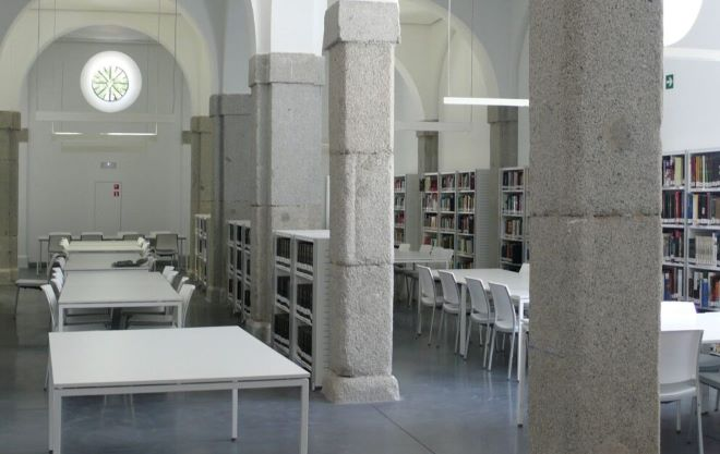 biblioteca conde duque