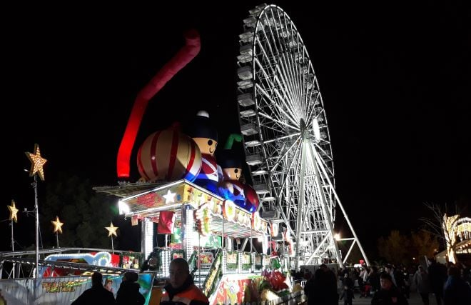 torrejón mágicas navidades noria gigante