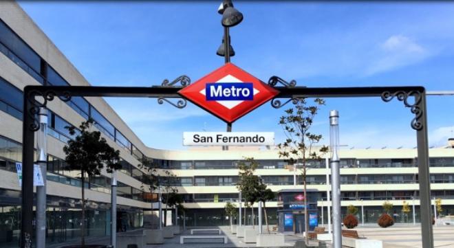 metro San Fernando línea 7b viviendas afectadas