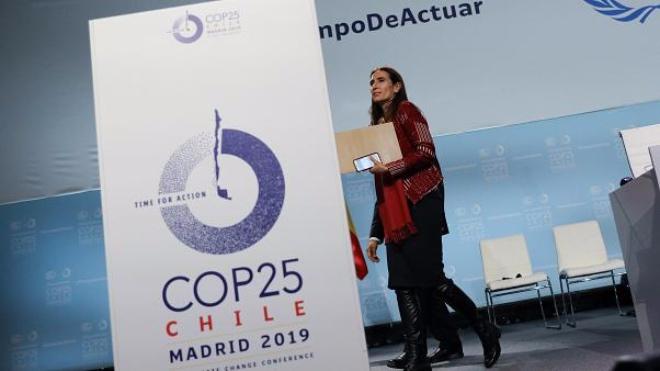 Carolina Schmidt en la COP25