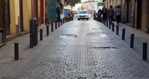 Desperfectos aceras Madrid centro