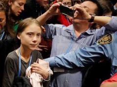 Greta Thunberg por Madrid