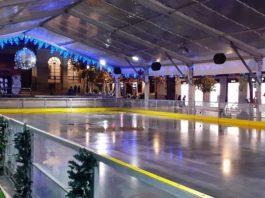 pista de hielo plaza Goytisolo