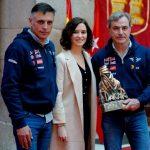 Homenaje a Carlos Sainz y Lucas Cruz, vencedores del Rally Dakar 2020