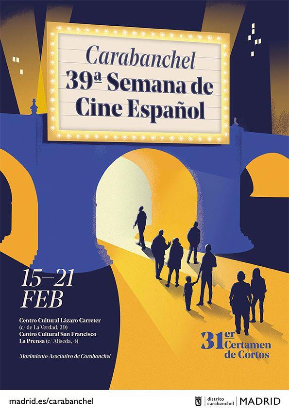 semana cine carabanchel 2021 cartel
