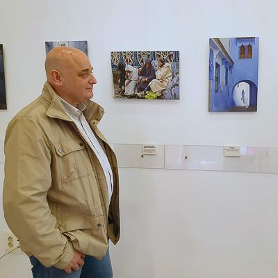 Carlos Bouza exposición ciudad azul