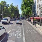 Un carril menos en la calle Princesa por las obras de plaza de España