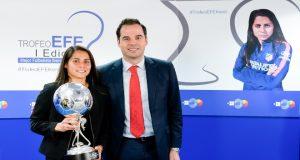 fútbol femenino Trofeo EFE kenti Robles