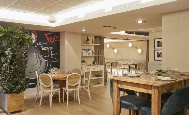 Salones restaurante Gallinas y Focas